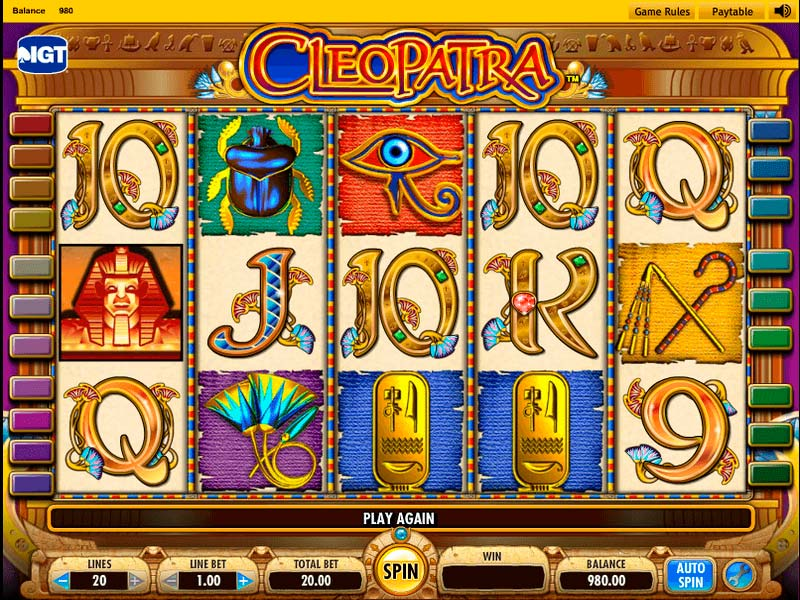 Cleopatra slots review