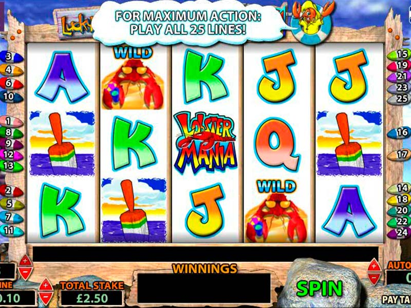 Lobstermania Slot Review