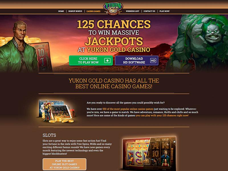 Yukon Gold Casino