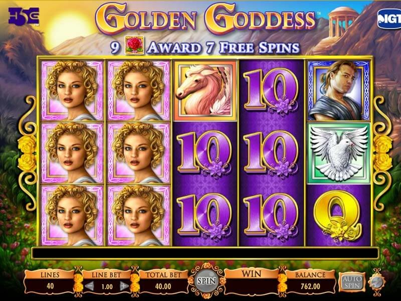 Find out Everything about Golden Goddess Online Slot