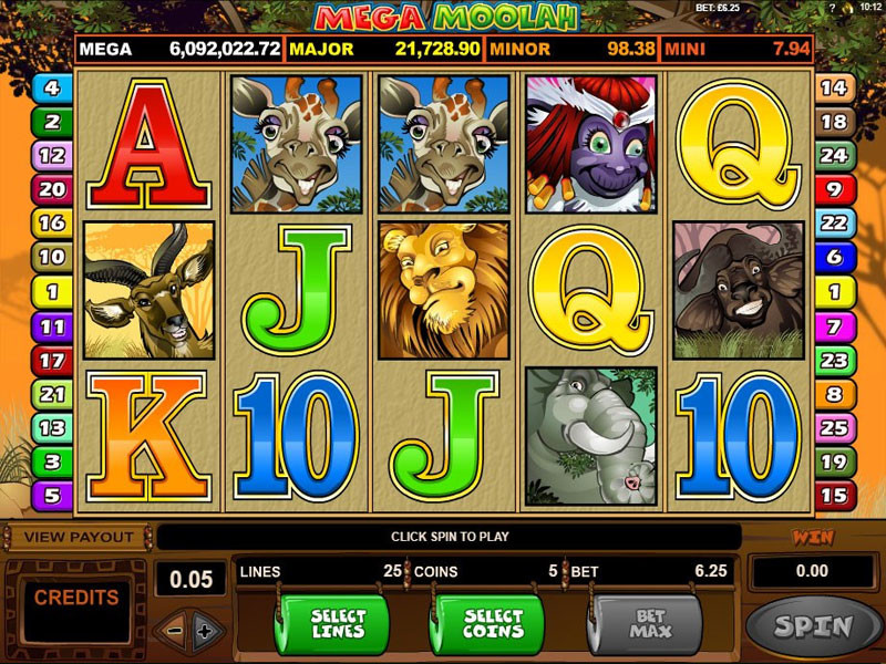 Mega Moolah? This is a killer machine from Microgaming!