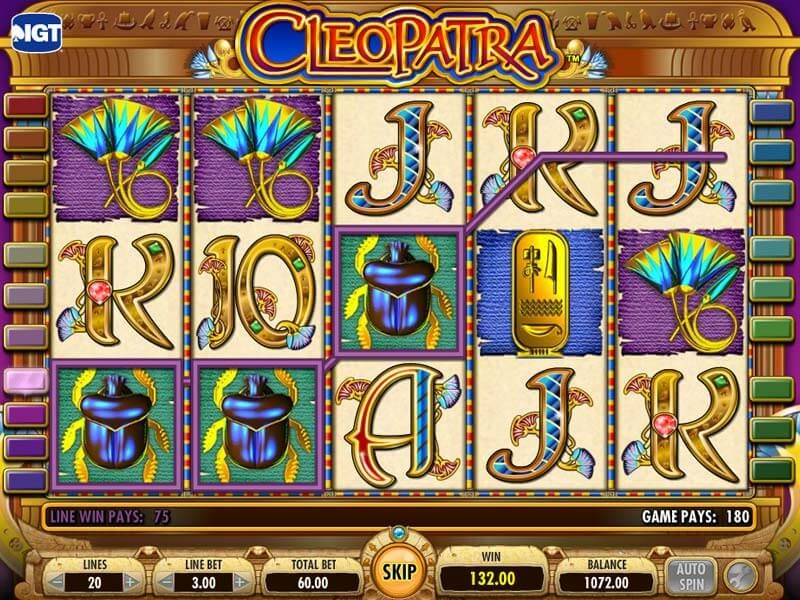 Can you ID what you win? With Cleopatra Slots, you can!